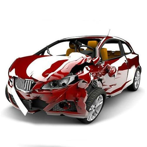 auta uszkodzone